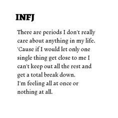 if I do everything will fall apart Infj Mbti, Isfj, Introvert, Myers Briggs Personality Types, Infj Personality, Rarest Personality Type, Quotes To Live By, Life Quotes, Infj Type