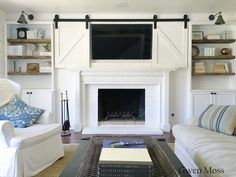 Gwen Moss: My DIY Cottage Style Fireplace Mantel.... Reveal!