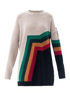 Aztec stripe sweater | Boy. by Band Of Outsiders | MATCHESFASH...