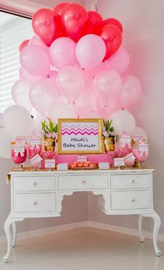 Little Big Company | The Blog: Ombre Pink Baby Shower by Perfectly Sweet