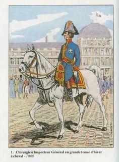 Napoleon Era Military Surgeon Uniform - 1806