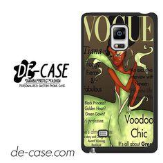Tiana Disney Vogue Magazine DEAL-11218 Samsung Phonecase Cover For Samsung Galaxy Note Edge