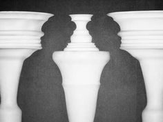 Photo about Optical illusion created by clay columns forming shapes of two ladies talking. Image of optical, experiment, column - 5967577 Allegory Of The Cave, Cool Optical Illusions, Fun Test, Deep Truths, Small Talk, What Do You See, Two Faces, You Really, Perception