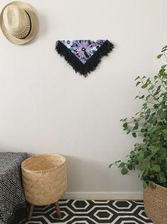 Kailu | Handmade Fiber wall art | Contemporary wall art | Triangular Wall hanging | Fiber canvas | Fabric art | Modern fiber | Home Décor