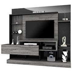 easy healthy breakfast ideas on the good day song Tv Unit Interior Design, Tv Unit Furniture Design, Tv Furniture, Modern Tv Room, Modern Tv Wall Units, Tv Unit Decor, Tv Wall Decor, Wall Tv, Living Room Wall Units