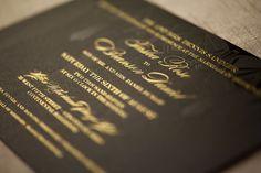 Invitations #Artdeco Art Deco Wedding, Gatsby, Cincinnati Ohio, #sandlerdunlopwedding #amoink