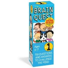 Brain Quest Grade 1, revised 4th edition: 750 Questions and Answers to Challenge the Mind. Price: 	$9.56