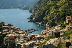 Vernazza in Cinque Terre, Italy | by Cole Chase Photography