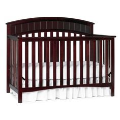 Shermag Preston Crib Espresso Babies Cribs Baby Furniture