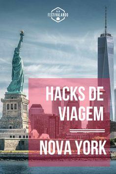 Dicas de viagem para Nova York, hacks de viagem, Nova York, Estados Unidos