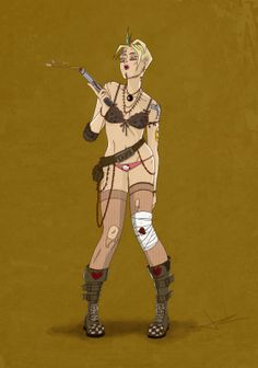 Tank Girl By: Juan.R.Pou