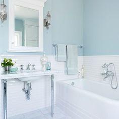 Creative Small Attic Bathroom Design Ideas Suitable Space Saving – Decorating Ideas - Home Decor Ideas and Tips Attic Renovation, Attic Remodel, Bad Inspiration, Bathroom Inspiration, Small Attic Bathroom, Small Bathrooms, Acrylic Tub, Bathroom Colors, Bathroom Ideas