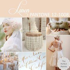{Pantone Fashion Color Report}: Spring 2013 Linen - PANTONE 12-1008 http://www.theperfectpalette.com/2012/10/pantone-fashion-color-report-spring-2013.html