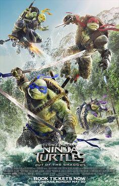 KOOL MOVIES TUBE: Teenage Mutant Ninja Turtles Out Of The Shadow 201...