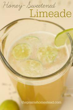 homemade honey limemade recipe