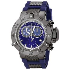 Invicta Men's 'Subaqua' & Stainless Steel Chronograph Watch