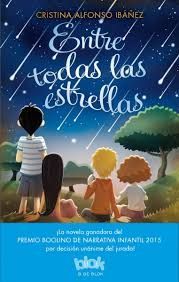 "Cristina Alfonso Ibáñez. "" Entre todas las estrellas"". Editorial B, S.A. para el sello B de Blok. (Verd)."