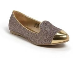 Tweed Gold & Taupe Loafer
