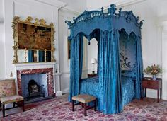 Prince Charles' Traditional Bedroom in Ayrshire, Scotland