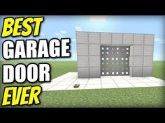 Minecraft PS4 - GARAGE DOOR 3x3 [ BEST EVER ] Tutorial - PE / Xbox / PS3 / Wii U - YouTube