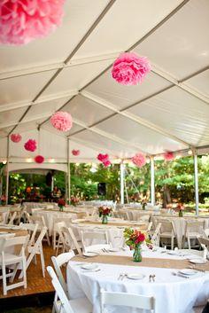 DIY: Pompones de papel para bodas y eventos