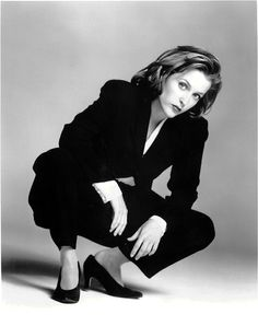 I grew up with X-files and I like to think that Dana Scully was one of my early gender blurring influences.