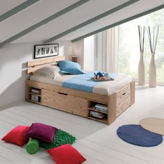 "Search image for ""double bed with storage"" - bed"