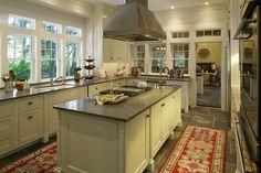 Amanda Webster Design: Traditional Eclectic Kitchen Interior Design / Photo: Neil Rashba