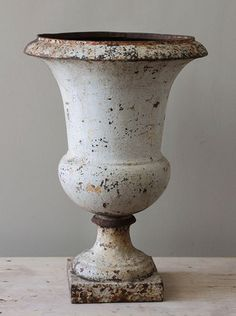 Cast Iron French urn – Josephine Ryan Antiques