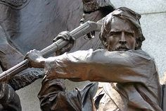 Detail of Virginia Gettysburg Monument ~ photograph by Mike Lynaugh