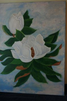 Southern Magnolias by 2SistersArtandCrafts on Etsy
