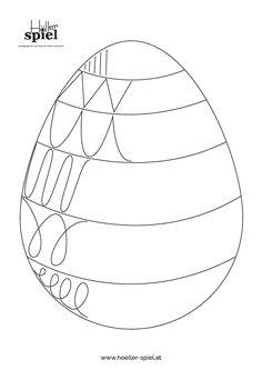 Druckvorlagen Ostern – Höller Spiel images for kids