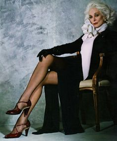 Carmen Dell'Orefice is an American model and actress, born in New York, NY. She is known within the fashion industry for being the world's oldest working model as of the Spring/Summer 2012 season.