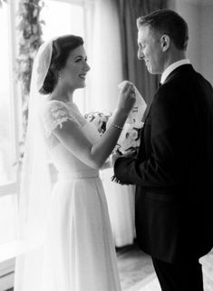.Beautiful shot of the bride and her dad!  These are the moments you want captured forever!