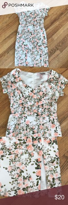 NWOT Forever 21 floral dress Never worn, sweet and classy. Floral dress perfect for all kinds of needs. Forever 21 Dresses Midi