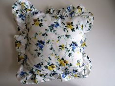 Laura Ashley Decorator Pillow - Polyanthus Pansy - Toss Cushion - Throw Pillow…