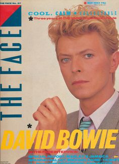 Twelve favourite covers from the first fifty issues of The Face magazine David Bowie Covers, The Face Magazine, Neville Brody, Newspaper Front Pages, Celebrity Magazines, Iggy Pop, Pop Heroes, Photo B, Light Of My Life