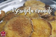 Berinjela crocante: os segredos dessa berinjela feita no forno Low Carb Recipes, Vegetarian Recipes, Cooking Recipes, Big Chefs, Empanadas, Love Food, Food And Drink, Yummy Food, Favorite Recipes