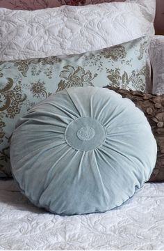 Bianca Lorenne, Belle Powder Blue Cushion.