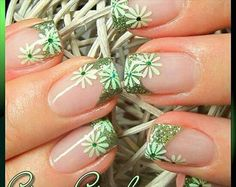 glitters greens & flowers ... makes me happy