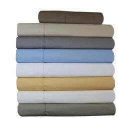 This top-rated linen was crafted with 70% of long staple Egyptian cotton & 30% of high strength microfiber polyester. Revive your bed and room.