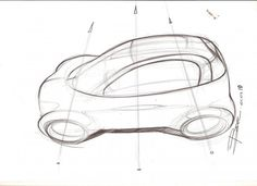 How to draw a car in perspective from top view Line Sketch, Car Sketch, Car Top View, Car Silhouette, Car Facts, Teaching Drawing, Car Drawings, Drawing Sketches, Product Sketch