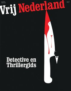 'Detective Thrillers' by Noma Bar