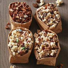 Popcorn Crunch Bark The Pampered Chef® Top Dessert Recipe, Dessert Recipes, Desserts, Popcorn Recipes, Salad Recipes, Chocolate Morsels, Chocolate Chunk Cookies, Chocolate Pudding, Pampered Chef Recipes