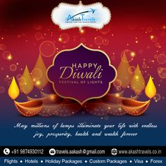 May Millions of lamps illuminate ur life with endless joy, #prosperity, #health& #wealth #Forever.  Wishing u and ur family #Happy #Diwali.