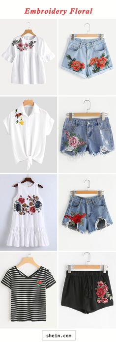 DIY Fashion Ideas – What you Need to be Creative – Designer Fashion Tips Diy Fashion, Ideias Fashion, Fashion Outfits, Womens Fashion, Floral Fashion, Summer Outfits, Casual Outfits, Cute Outfits, Look Girl