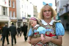 Grayson Perry, the potter, has launched a blistering attack on Bear Grylls, TV's action man, and the 'old-fashioned masculinity' he represents. Christopher Hart says feminisation has gone too far. Men Wearing Dresses, Grayson Perry, Gender Issues, Man Go, Gender Bender, Real Man, Contemporary Artists, Dressing, Product Launch