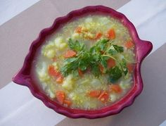 Sizzling Indian Recipes- Quinoa & Millet Soup with Cauliflower and Carrots