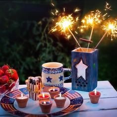 Happy Independence Day! I hope day is filled with sparkles  & bliss! . . . #4thofjuly #independenceday #sparkleandshine #blissfularomatics #handpoured #soycandles #holisticaromatherapy #aromatherapytogo #aromatherapist #essentialoils #aromatherapyforbeginners #findbliss
