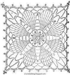 Doilies+Crochet++Pattern+Free+1.jpg 603×643 píxeles
